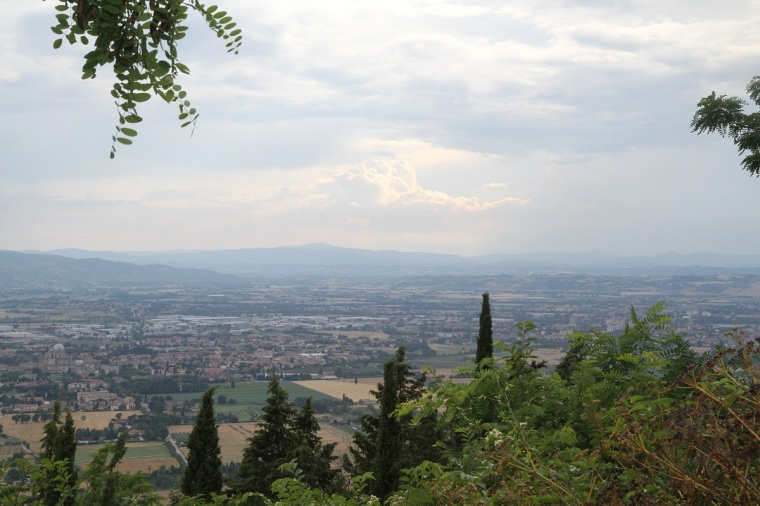 utsikt från assisi