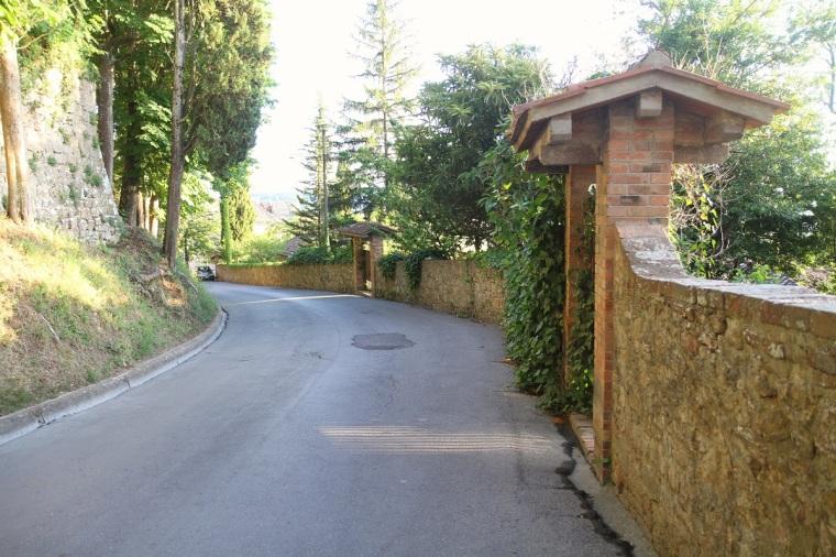montepulciano väg