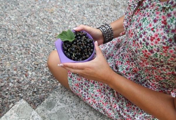 vinbar svarta