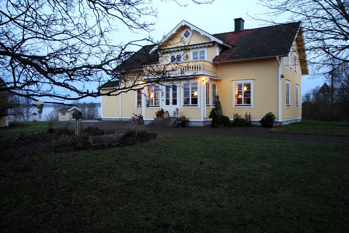 huset i december