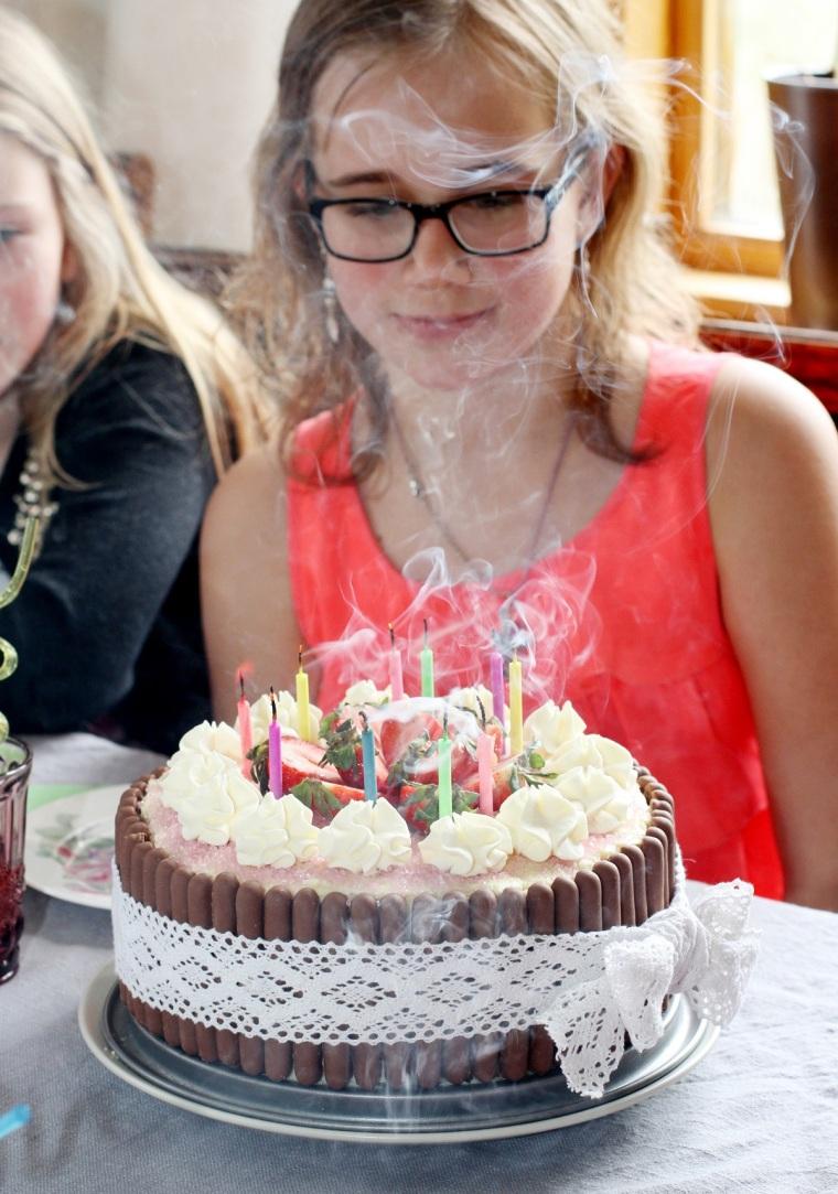 tårta ljus 2