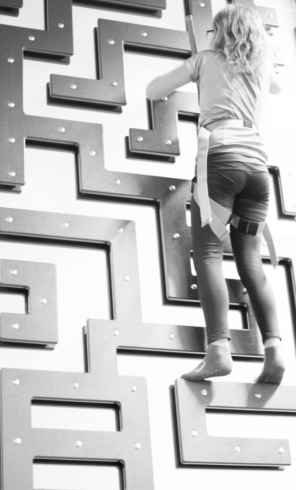 helt uppåt väggarna