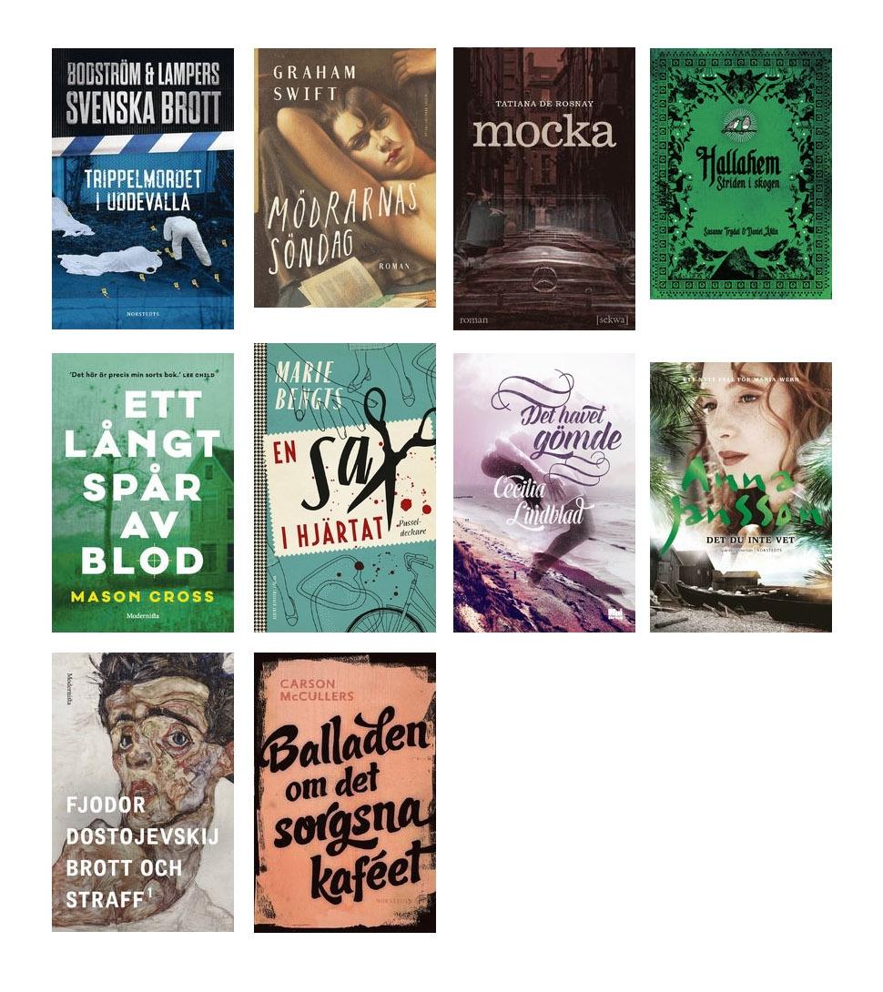 nya böcker 2016