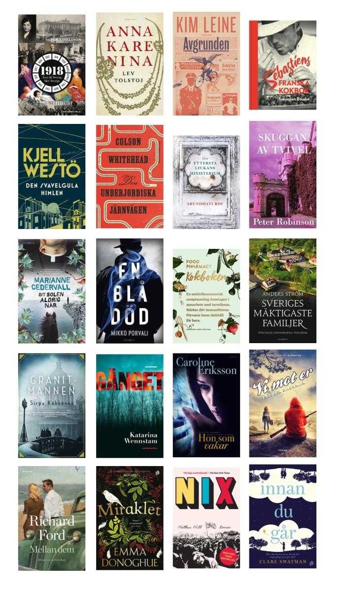 Böcker att se fram emot hösten 2017